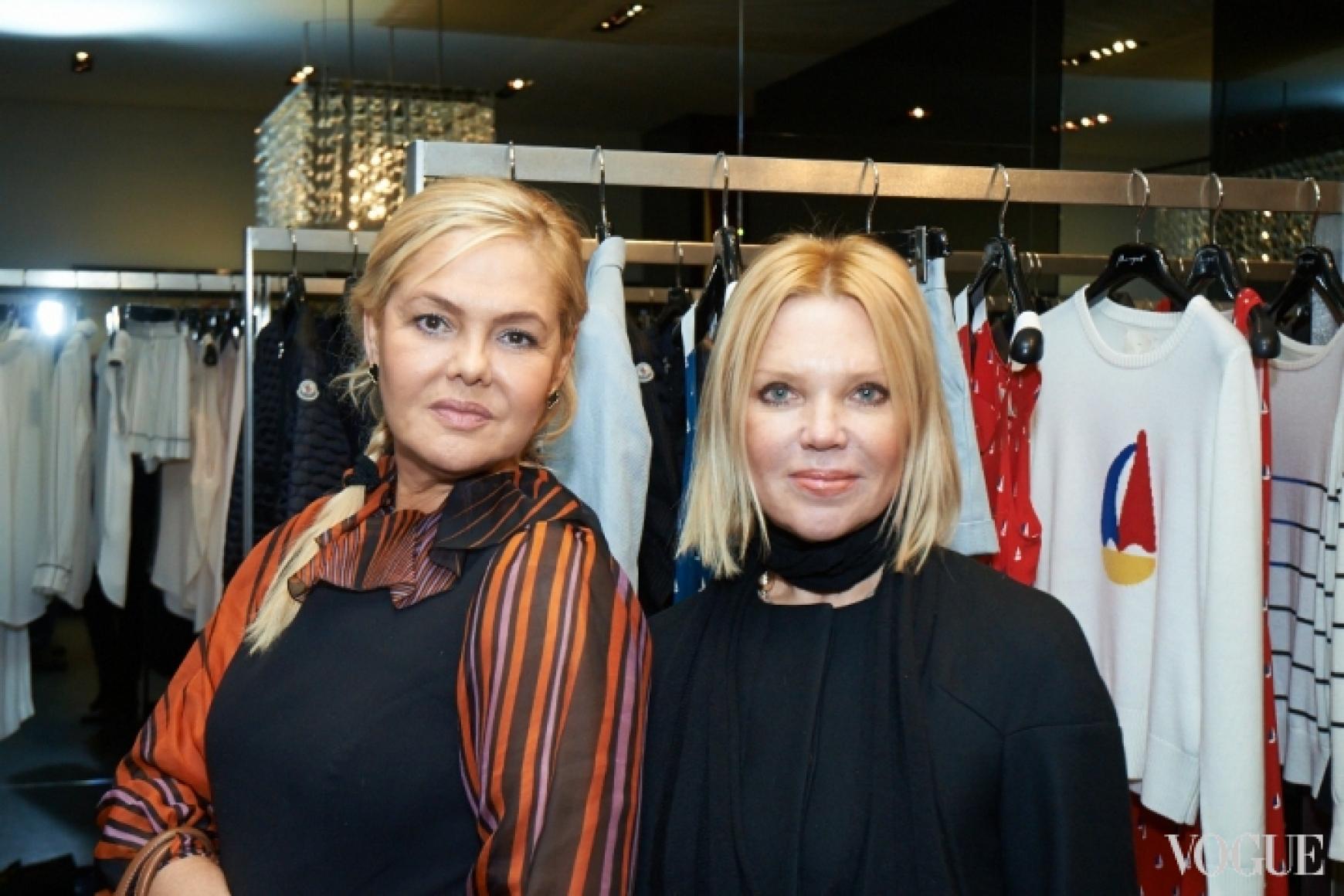 Диана Лялина (слева)