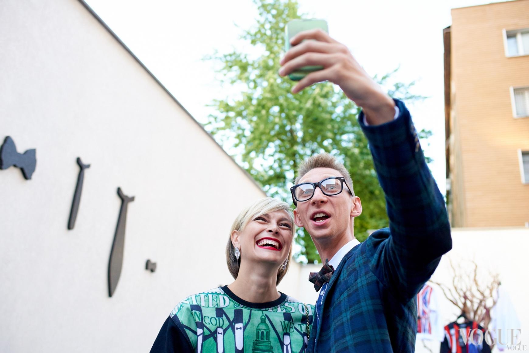 Маша Цуканова и Вячеслав Соломка