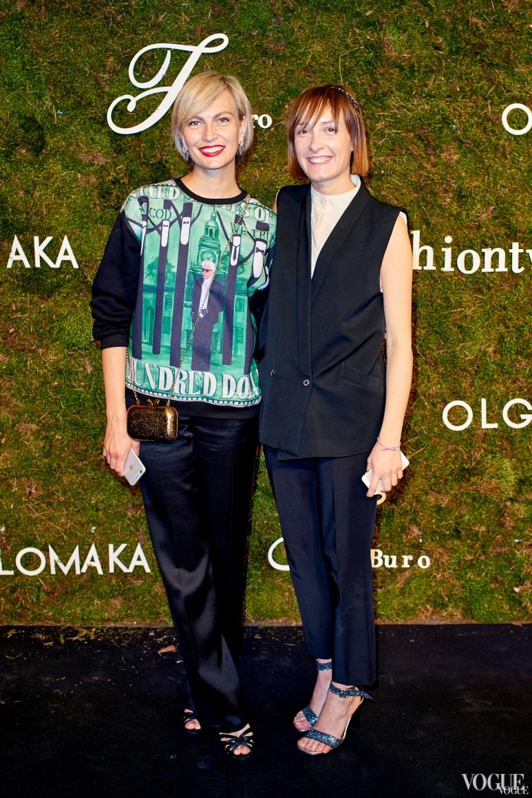 Маша Цуканова и Ольга Сушко