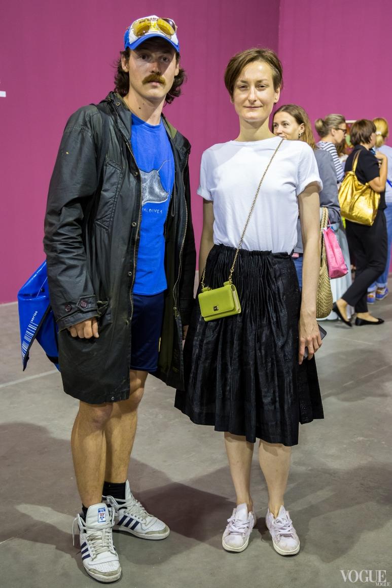 Никита Кравцов и Татьяна Соловей