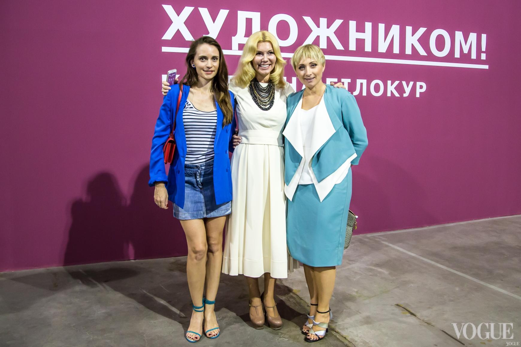 Наталья Заболотная и Виктория Тигипко