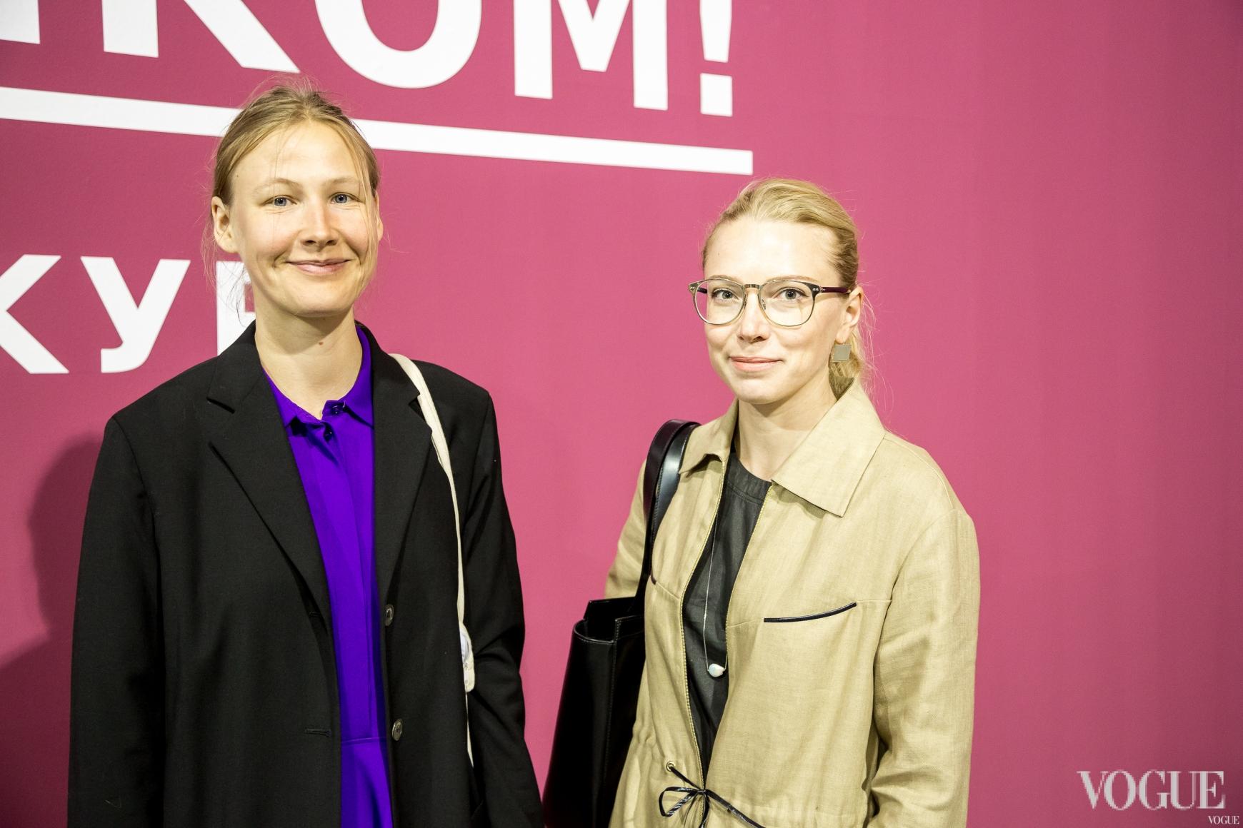 Настя Щукина и Ирина Каравай