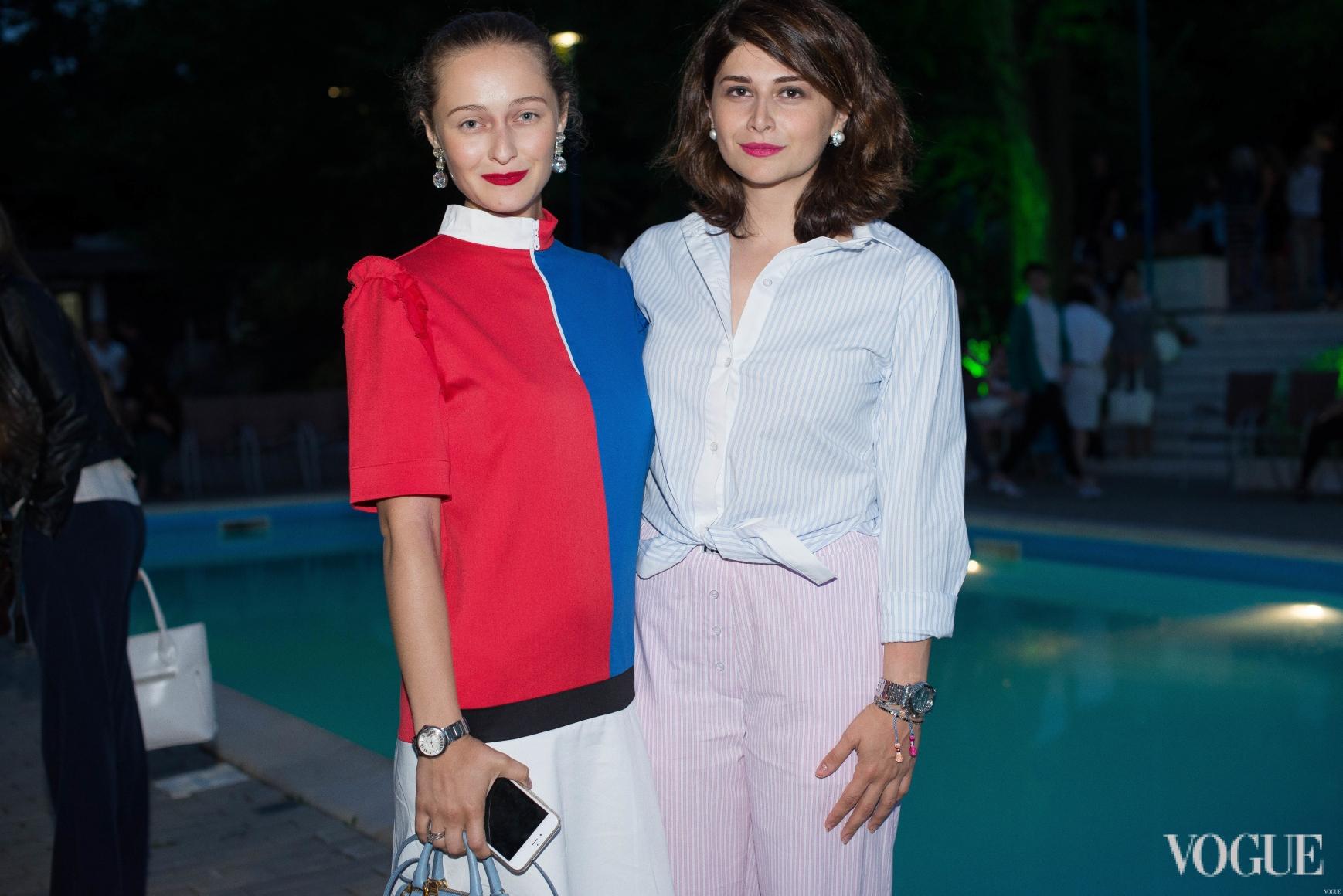 Дарья Шаповалова и Нина Васадзе