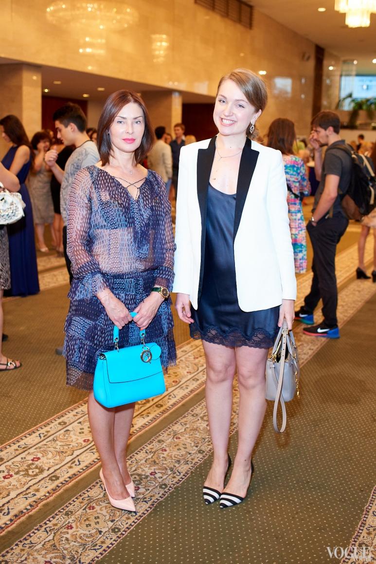 Людмила Лютина и Марина Яненко