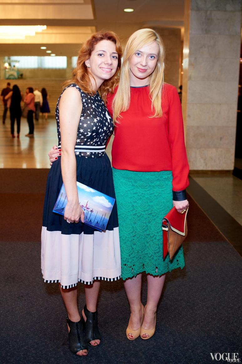Мария Артеменко и Инга Вишневская