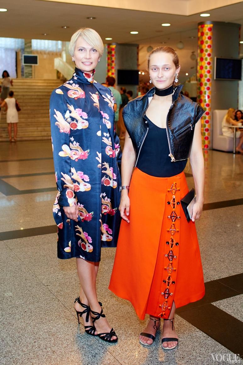 Маша Цуканова и Дарья Шаповалова