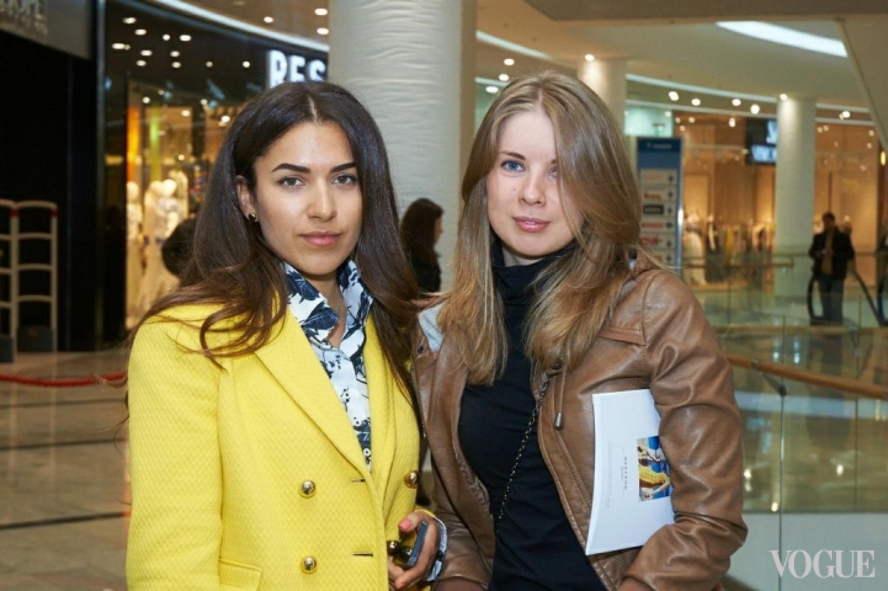 Ульяна Бойко и Татьяна Вежис