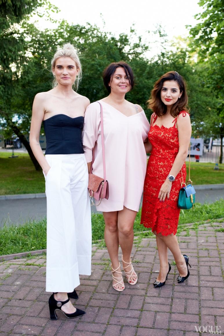 Валентина Грищенко, Хрыстя Храновская и Фаина Тедеева