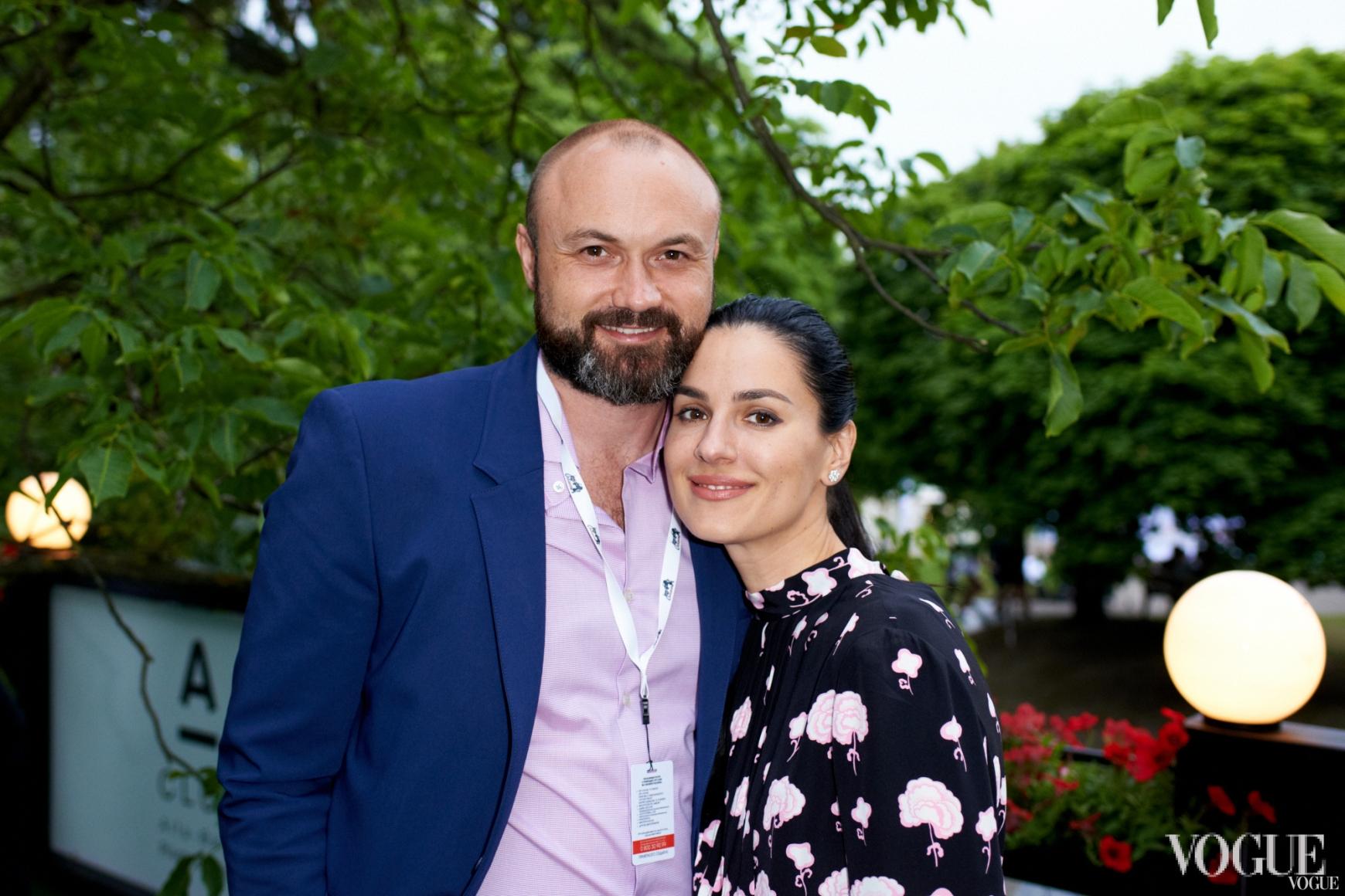 Тимур Хромаев и Маша Ефросинина