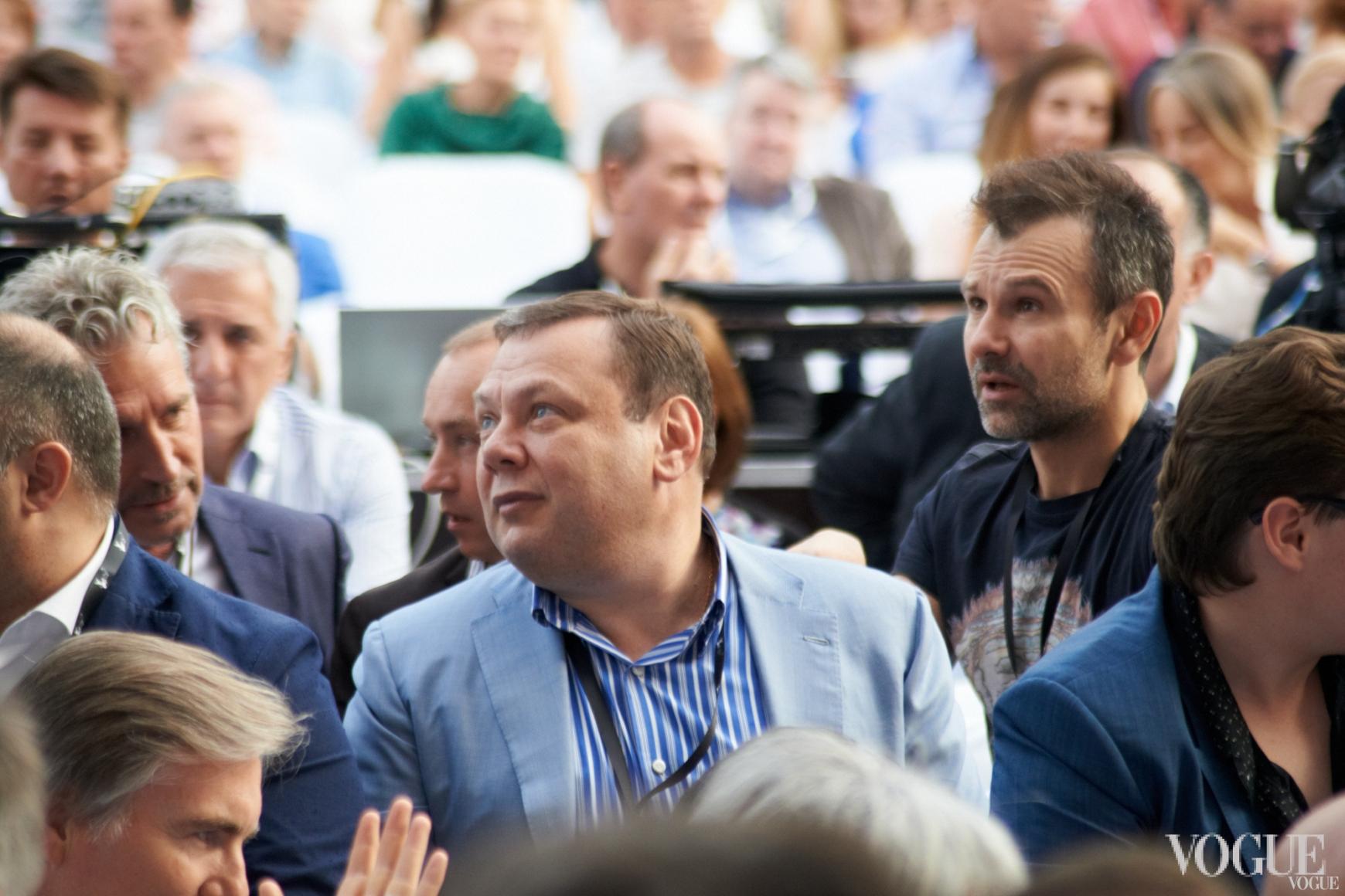 Михаил Фридман и Святослав Вакарчук