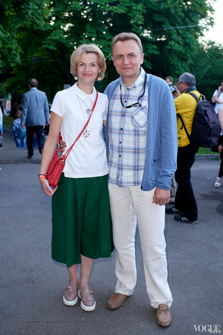 Андрей Садовый с женой