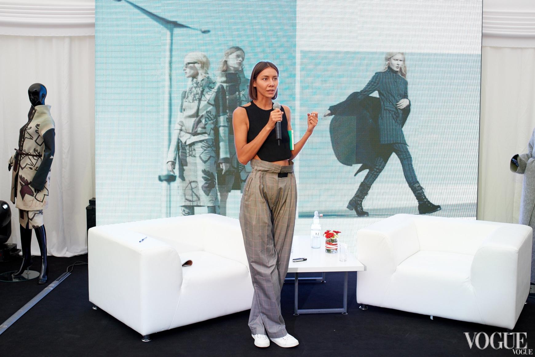 Мастер-класс Юлии Пелипас о правилах стрит-стайла на примере новой осенне-зимней коллекции Annette GORTZ