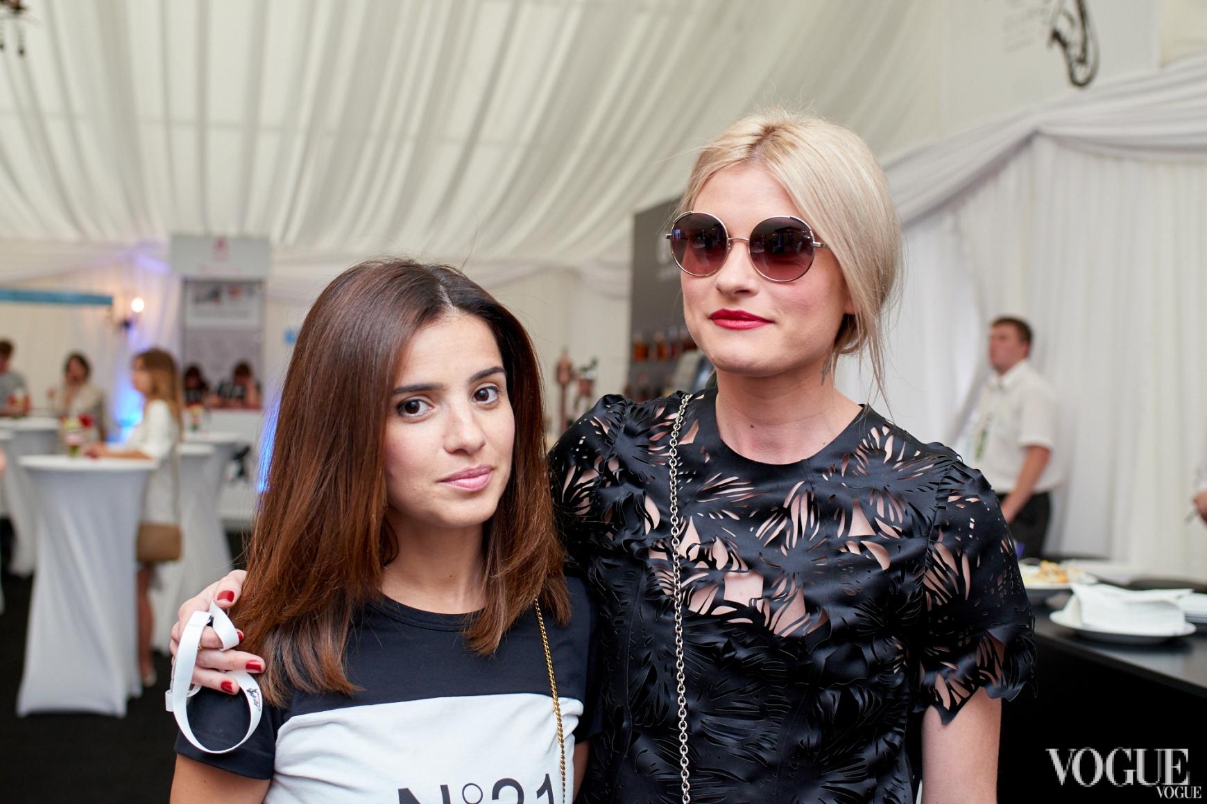 Фаина Тедеева и Валентина Грищенко