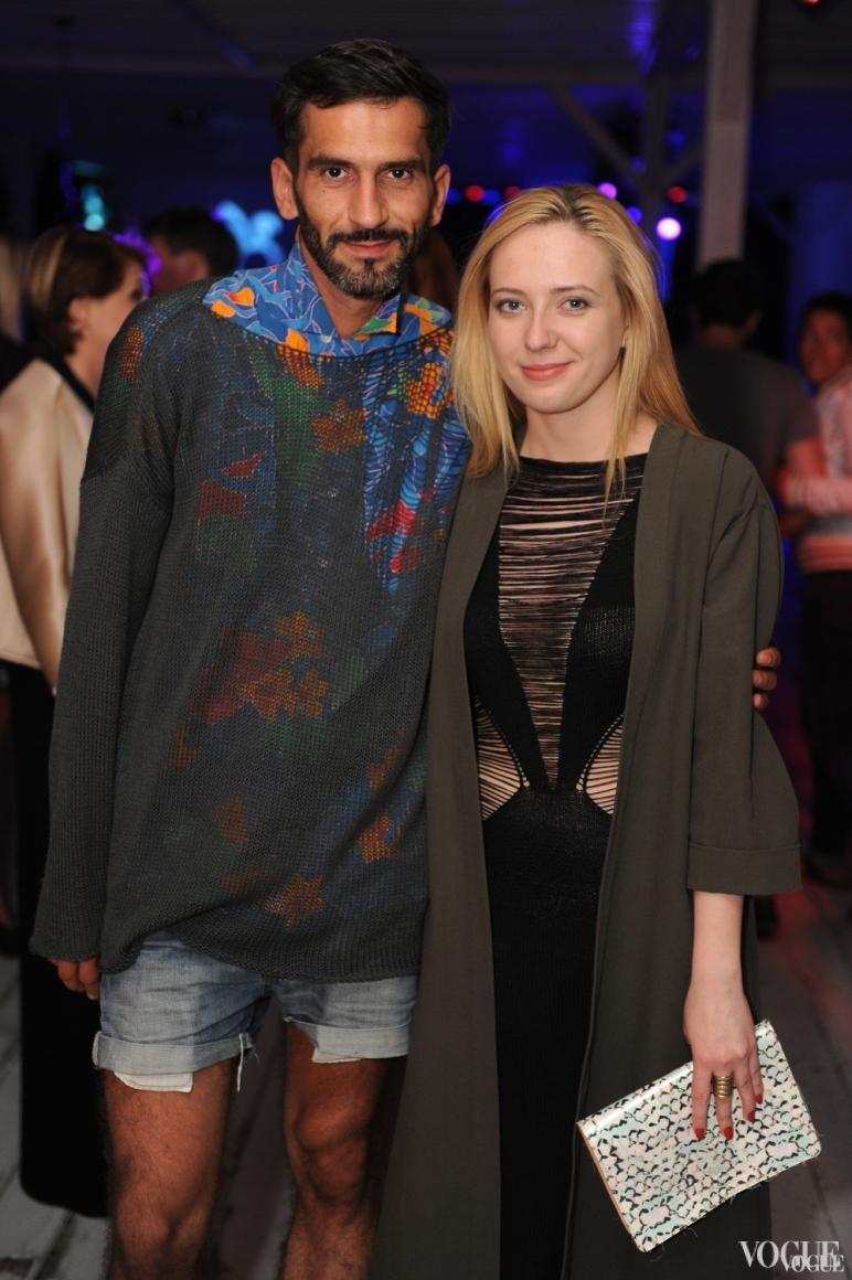 Валерий Топал и Инга Вишневская