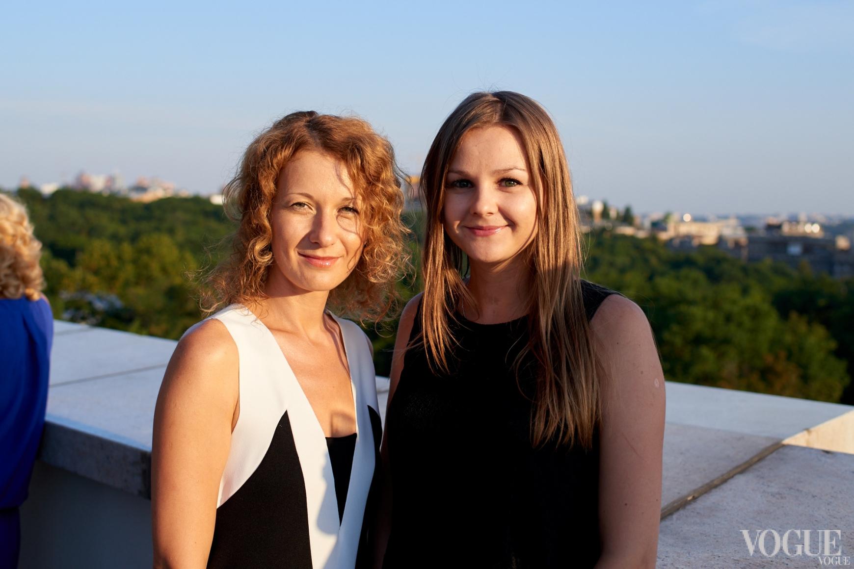 Светлана Рощук и Катерина Чернова