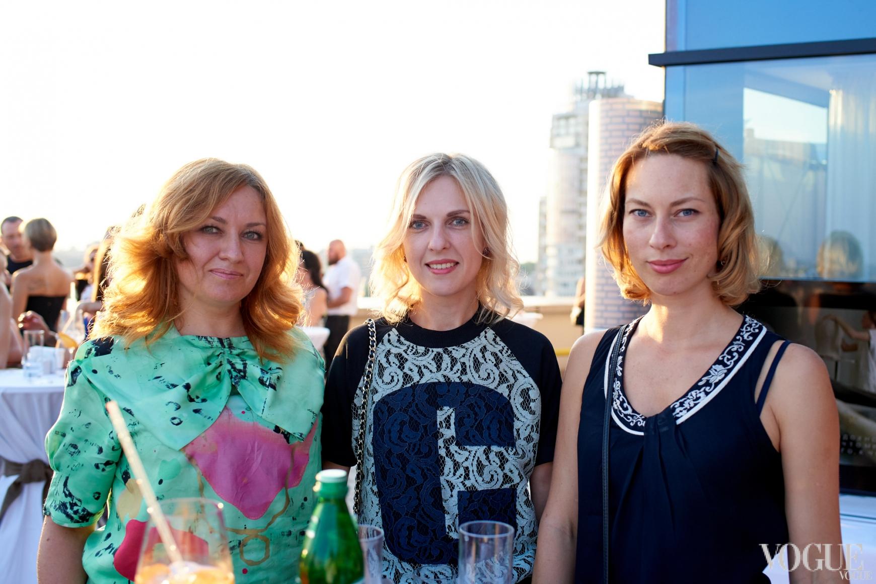 Светлана Швец, Юлия Костецкая и Татьяна Радченко