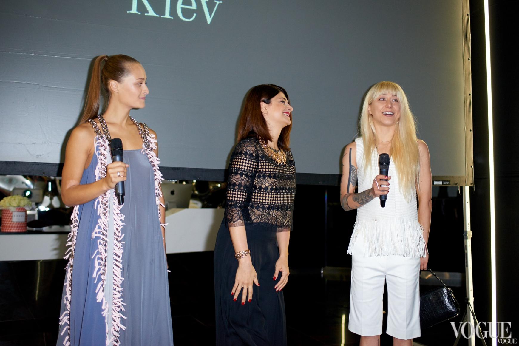 Дарья Шаповалова, Нина Васадзе и Валерия Ковальская