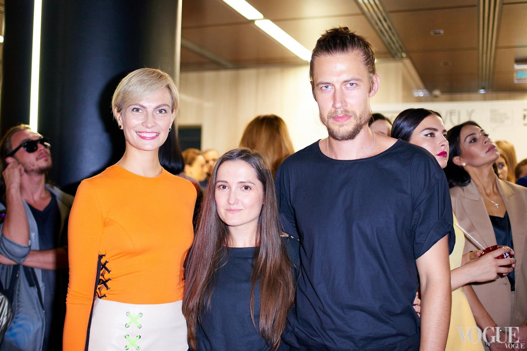 Маша Цуканова и дизайнеры бренда Finch