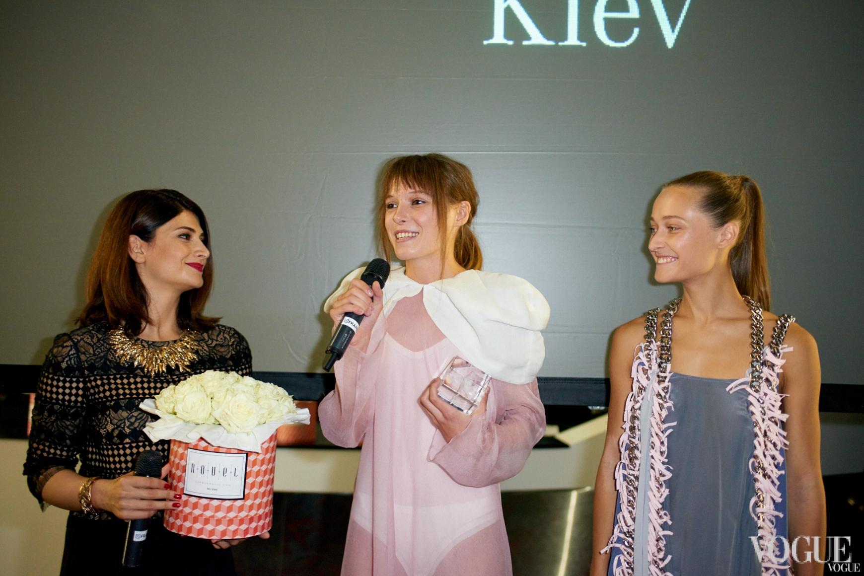Нина Васадзе, Анна Коломоец и Дарья Шаповалова