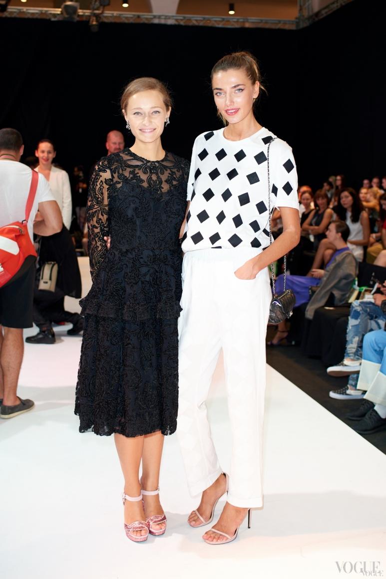 Дарья Шаповалова и Алина Байкова