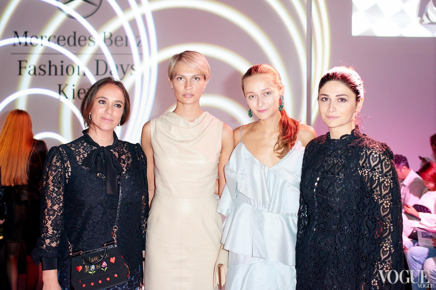 Катя Вербер, Маша Цуканова, Дарья Шаповалова, Нина Васадзе