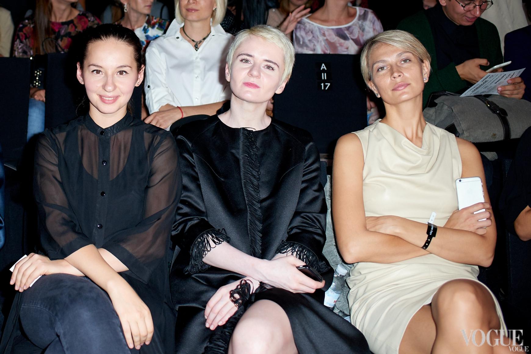 Виолетта Федорова, Ольга Януль и Маша Цуканова