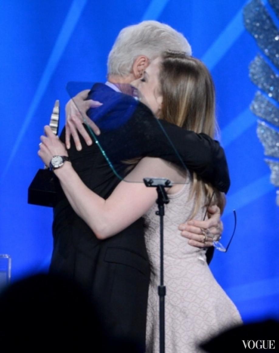 Билл и Челси Клинтон