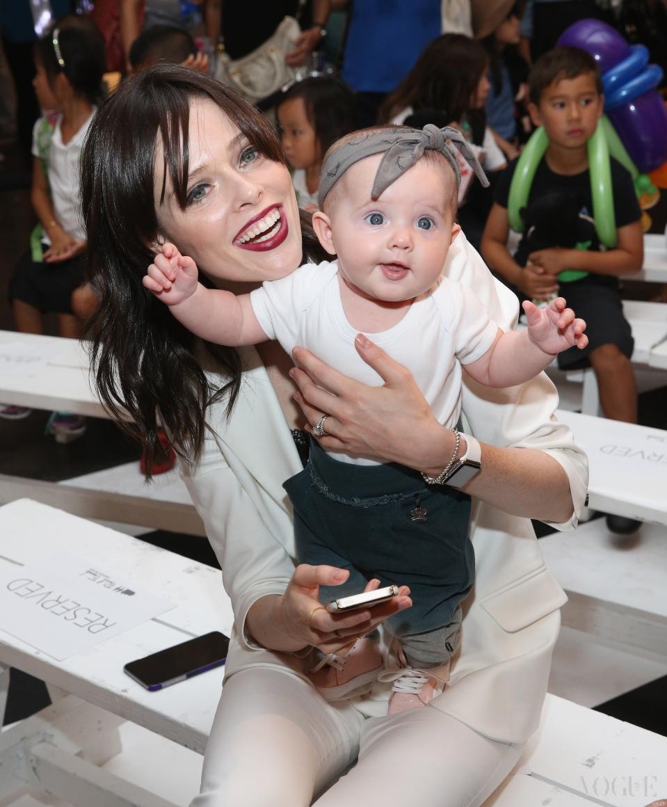 Коко Роша с дочерью Айони