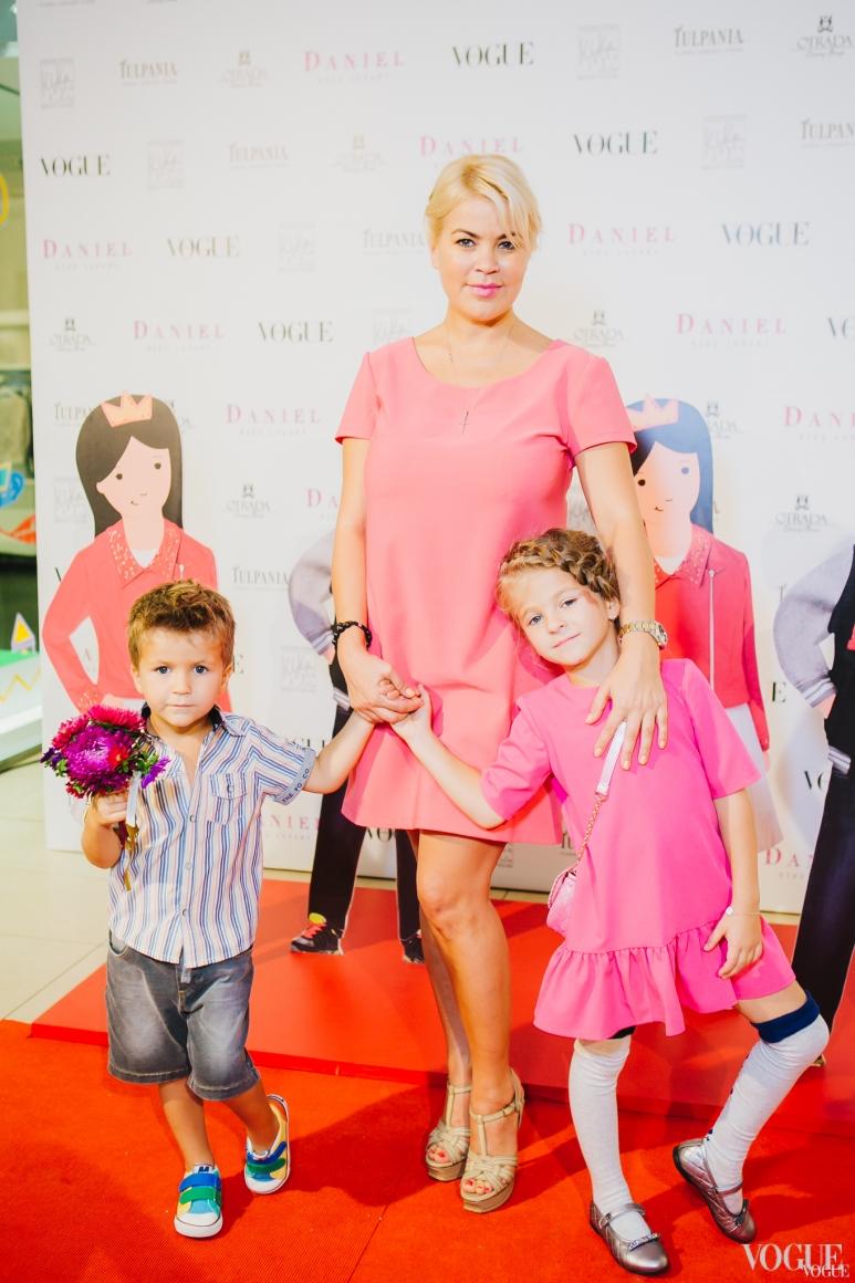 Татьяна Алиева с детьми