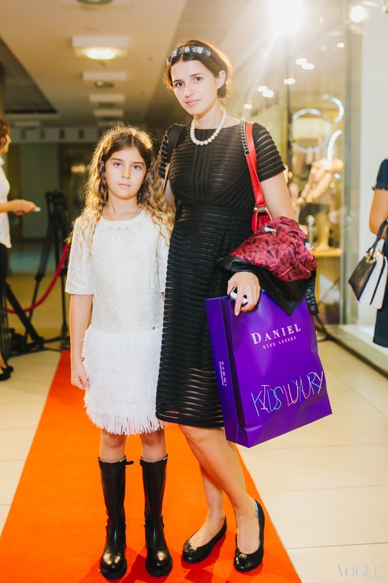 Елена Яловая с дочерью Аней