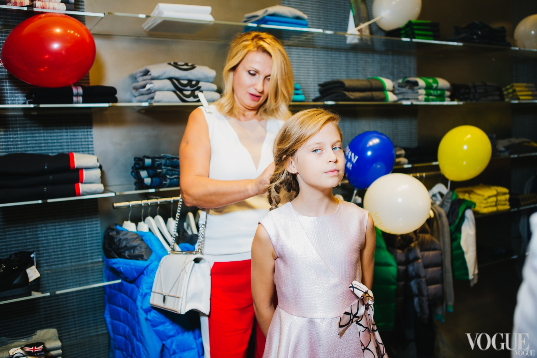 Оксана Лысова с дочерью Лизой