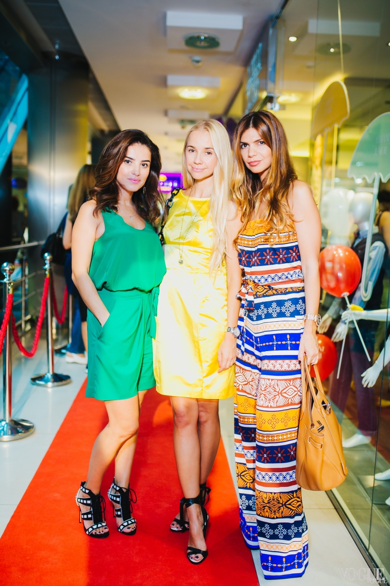 Фаина Тедеева, Ирина Турбаевская и Алина Алиева