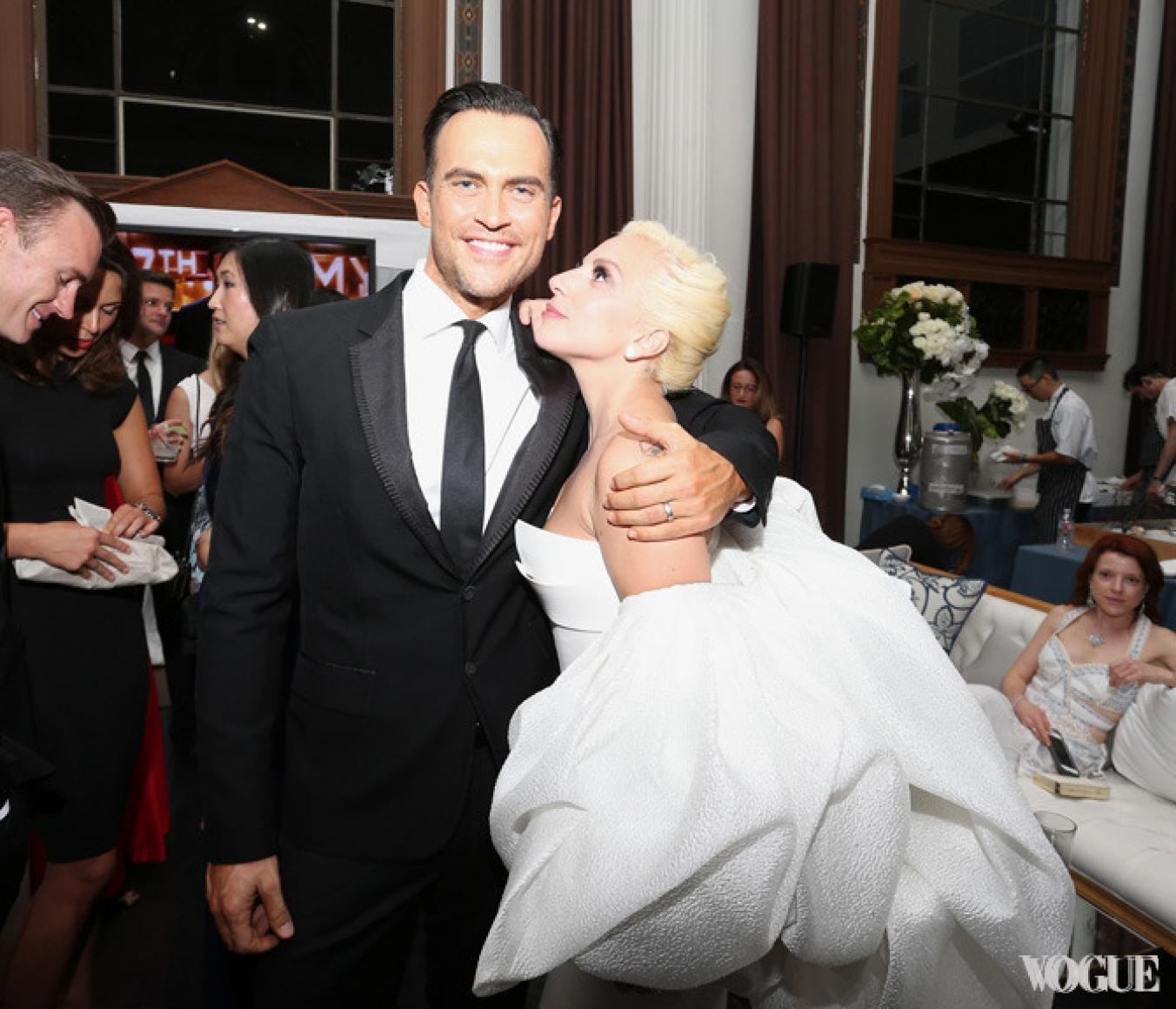 Леди Гага и Шайен Джексон