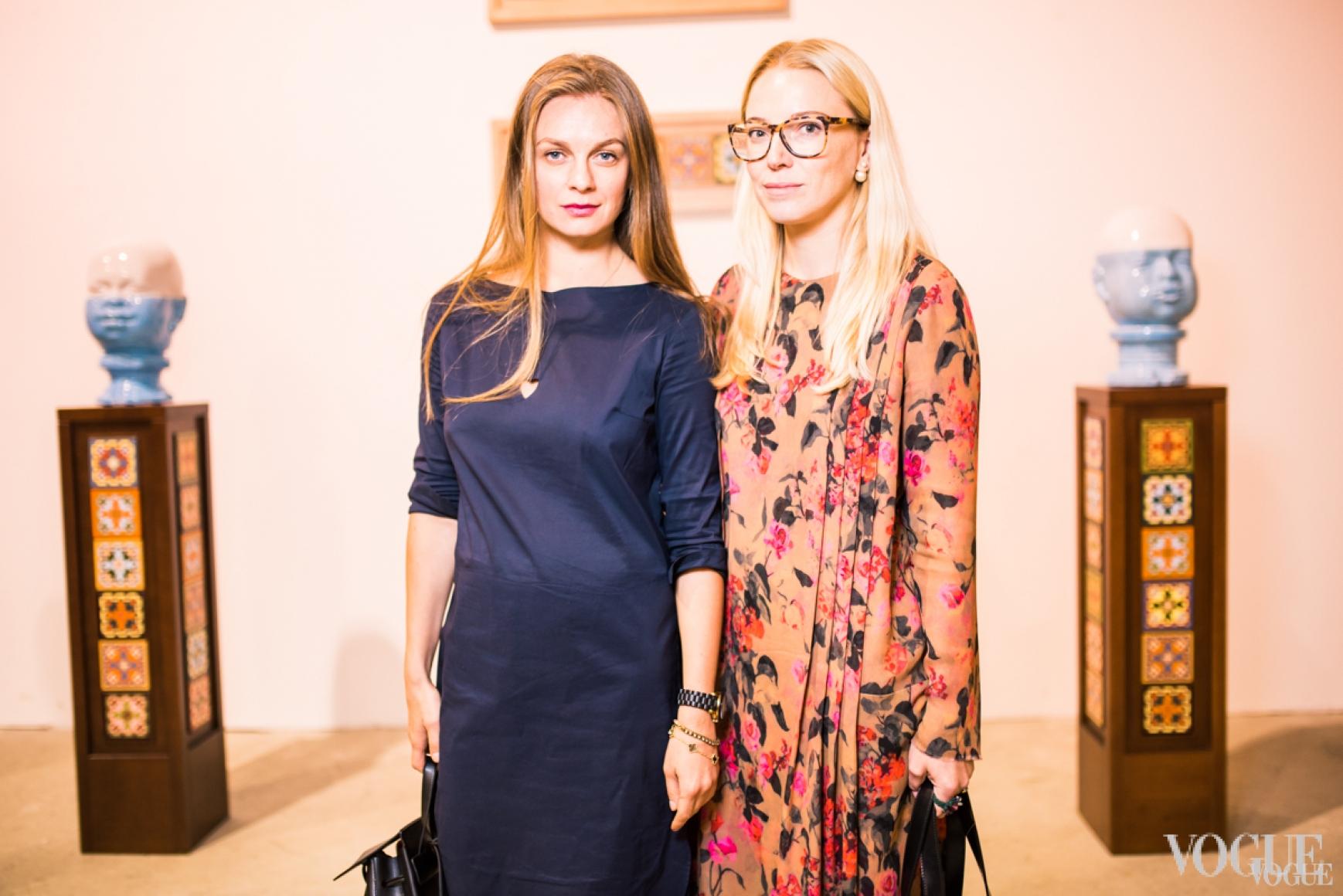 Юлия Криницкая и Ирина Каравай