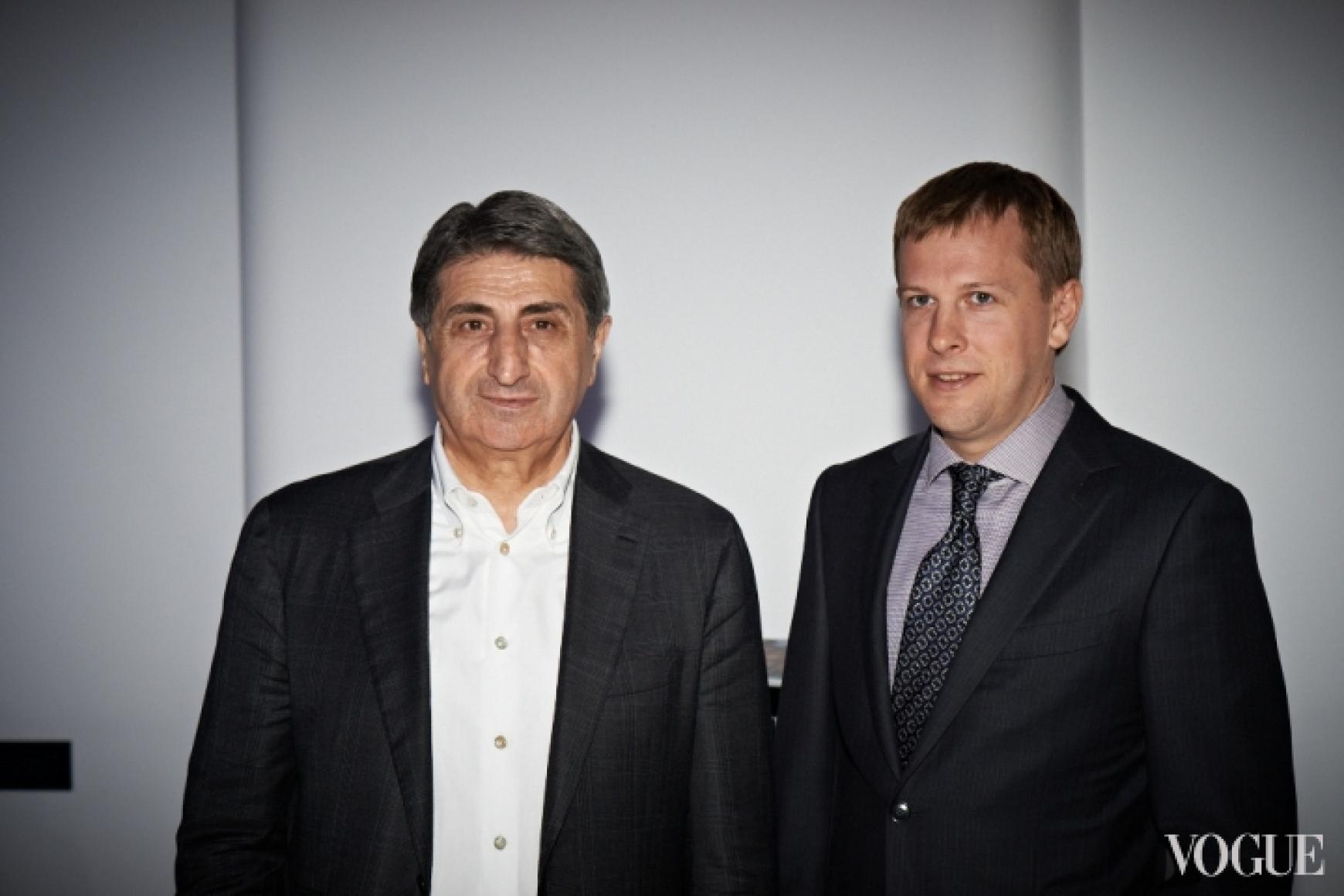 Тариэл Васадзе и Виталий Хомутынник
