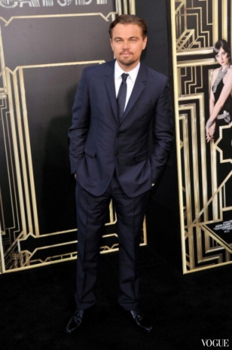 Леонардо ДиКаприо в костюме Prada