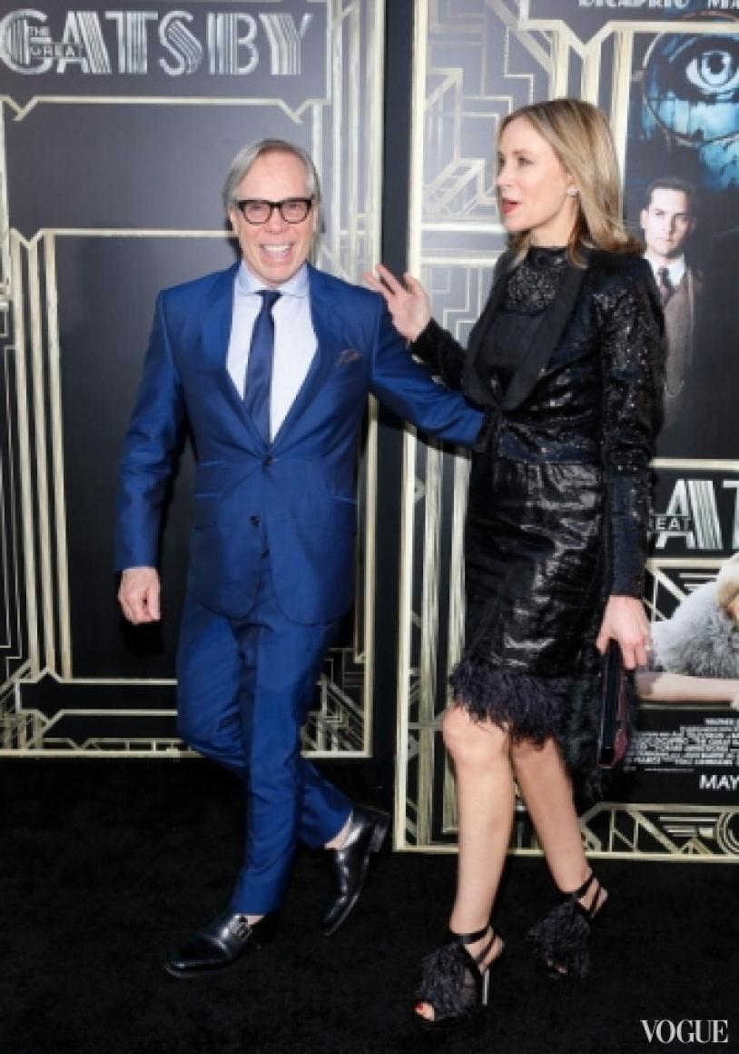 Томми Хильфигер с женой Ди