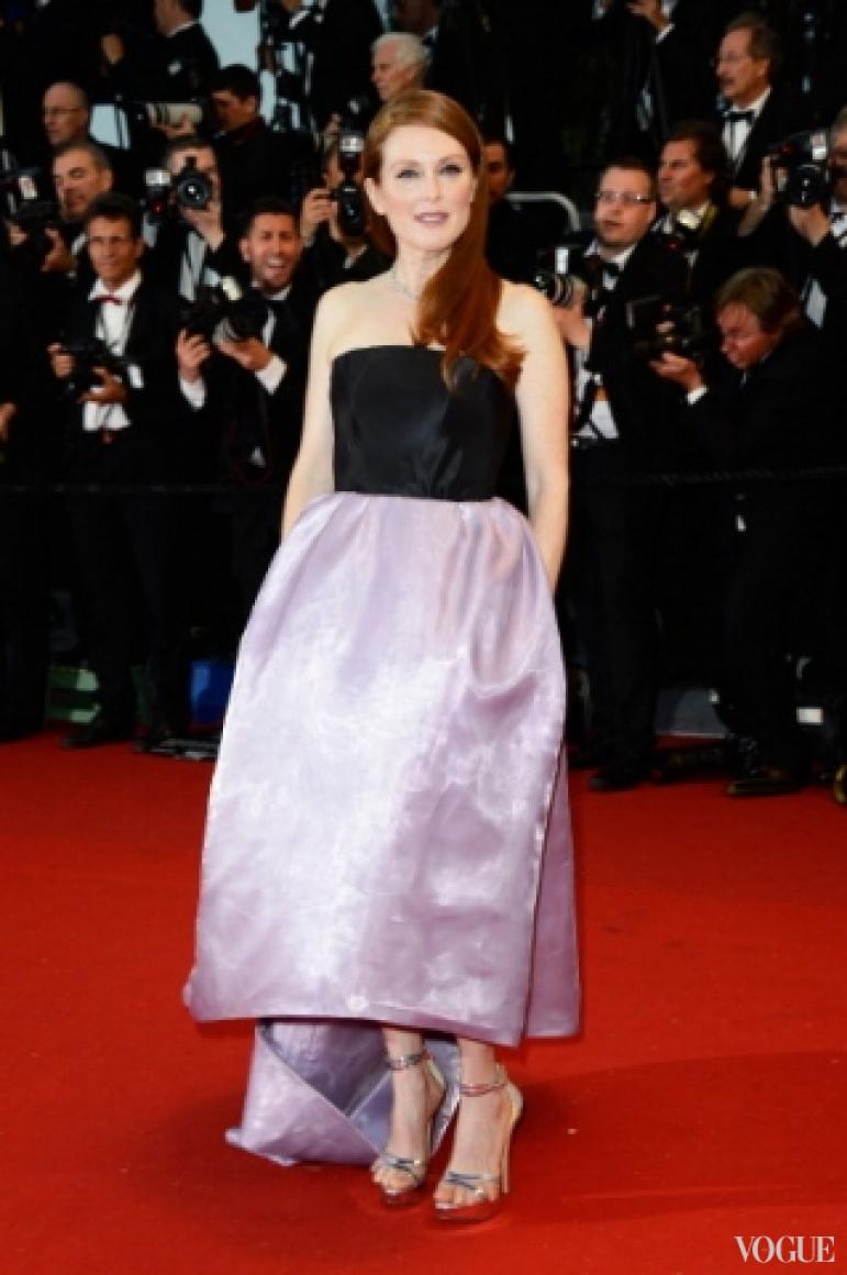 Джулианна Мур в платье Christian Dior Couture
