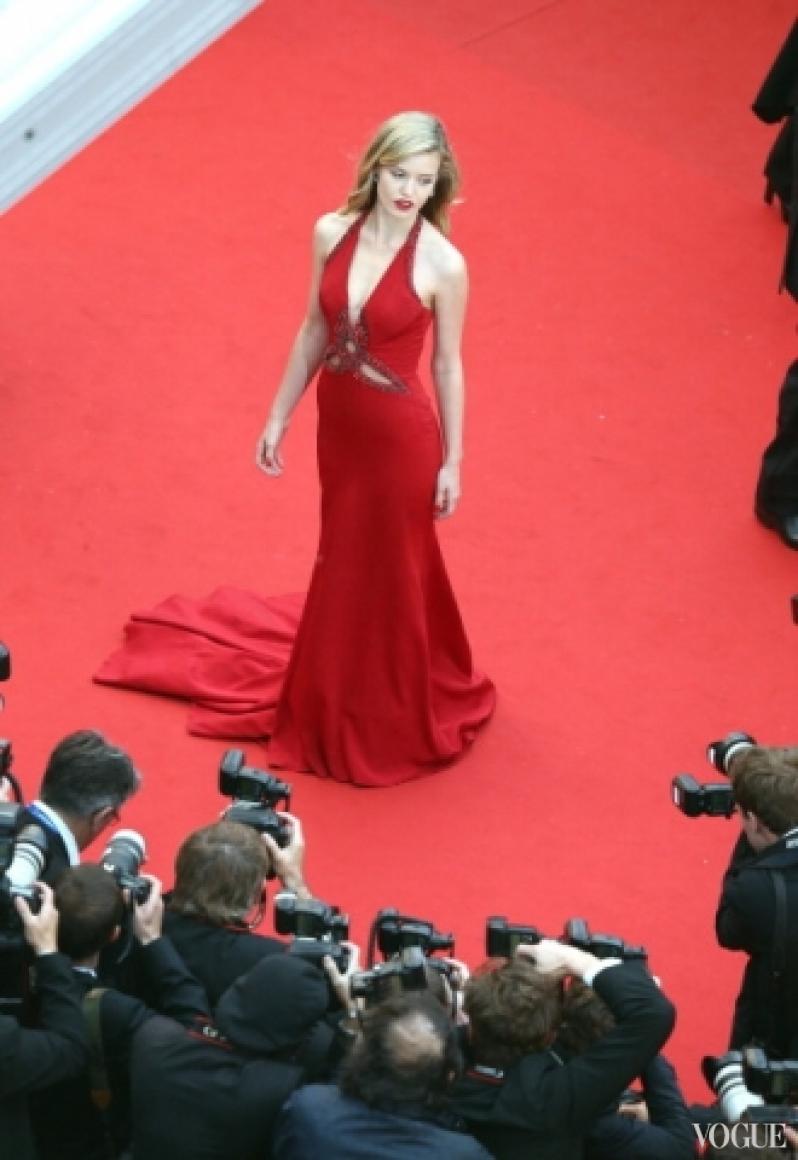 Джорджиа Мэй Джаггер в платье Roberto Cavalli