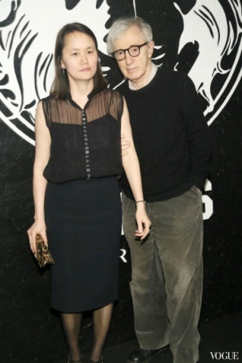 Вуди Аллен с женой Сун-и Превен
