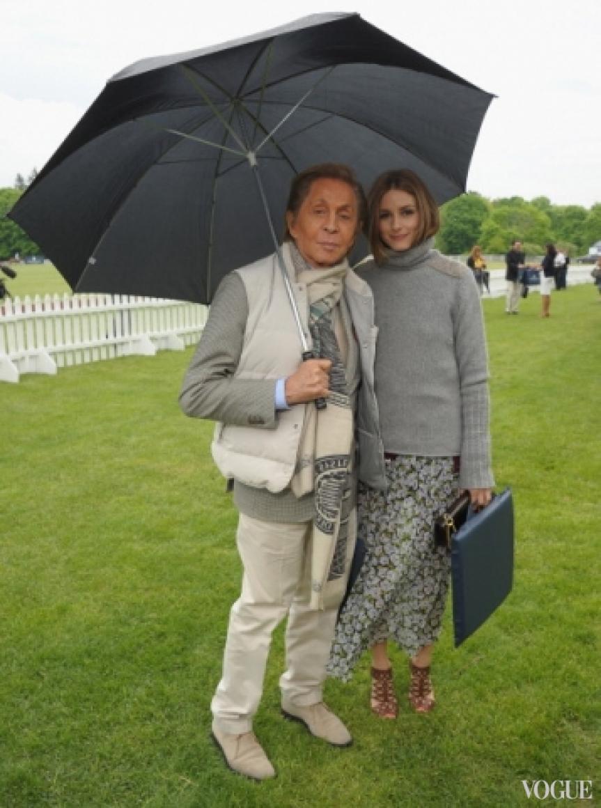 Валентино Гаравани и Оливия Палермо