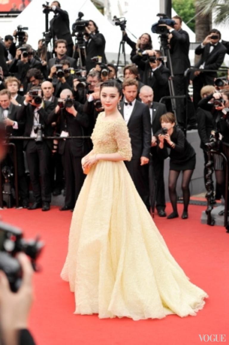 Фан Бинбинг в платье Elie Saab Couture