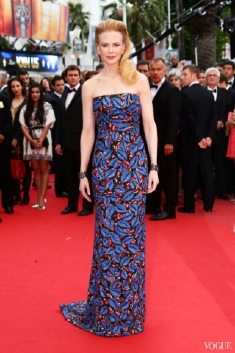 Николь Кидман в платье L'Wren Scott