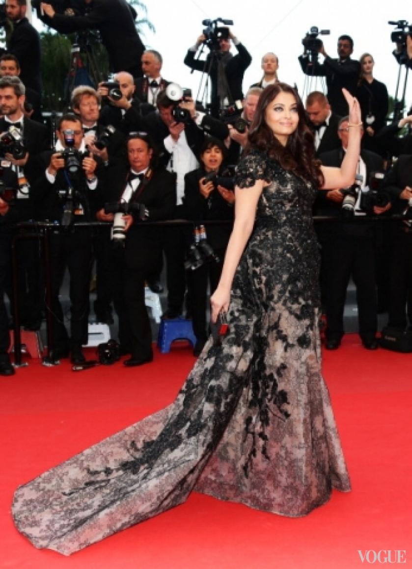 Ашвария Рай в платье Elie Saab Couture