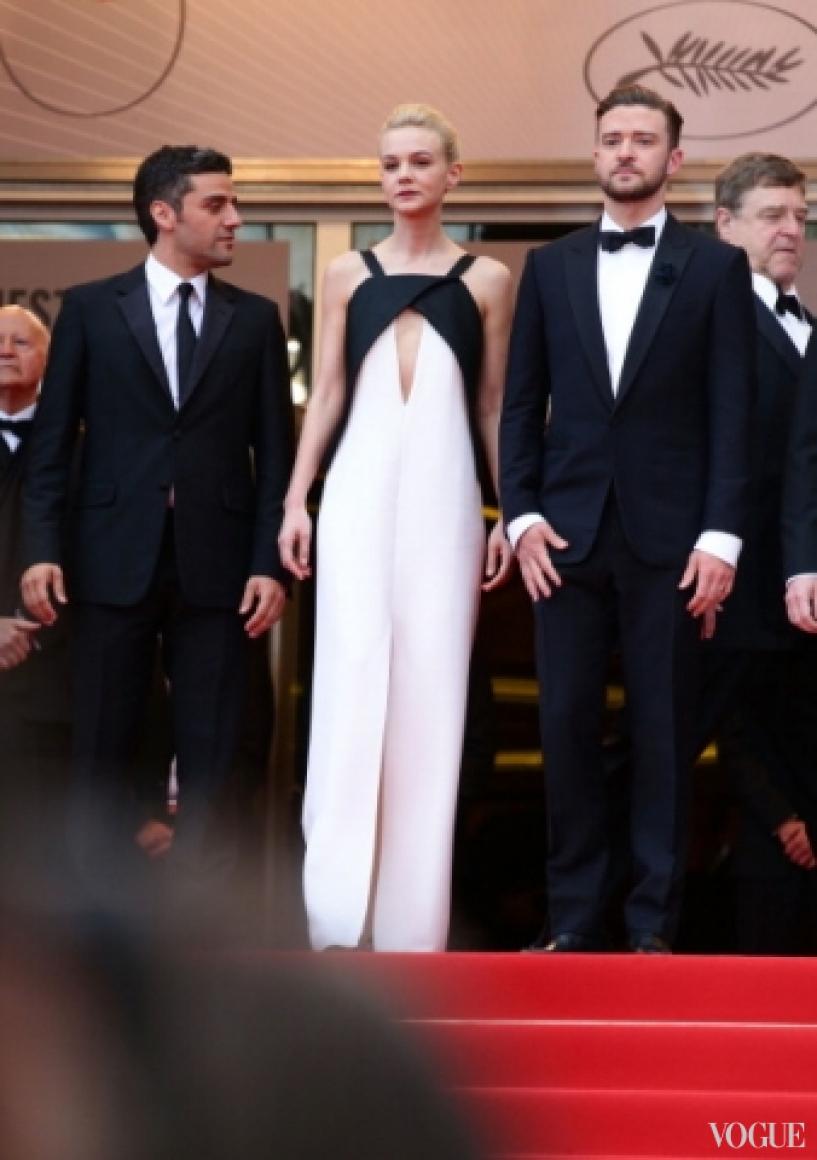 Кэри Маллиган в платье Vionnet, Джастин Тимберлейк в костюме Tom Ford