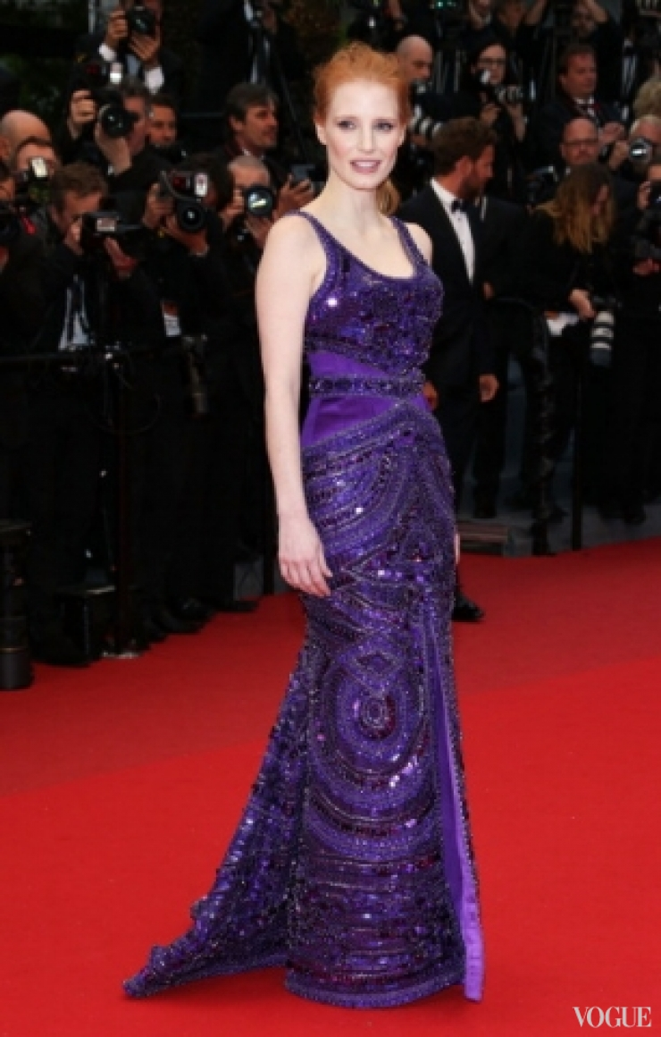 Джессика Честейн в платье Givenchy Couture