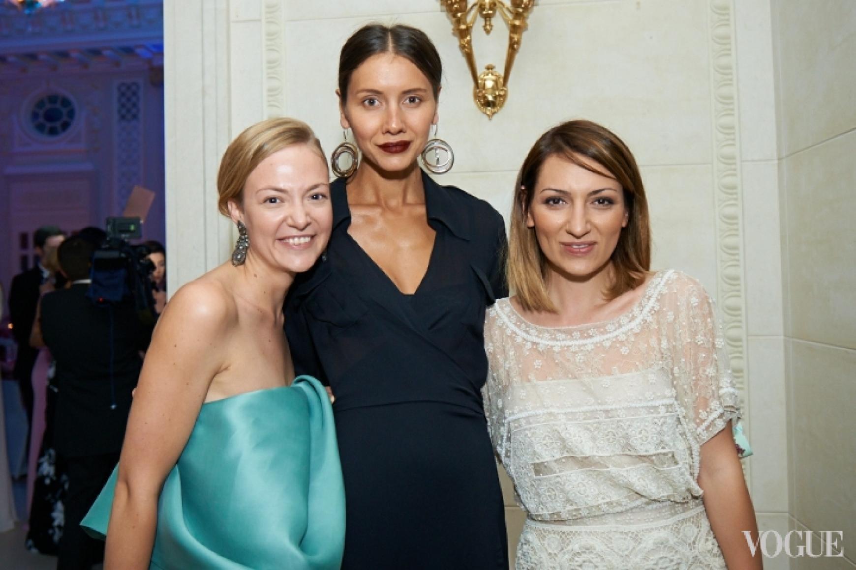 Мария Бех, Юлия Пелипас, Ася Мхитарян