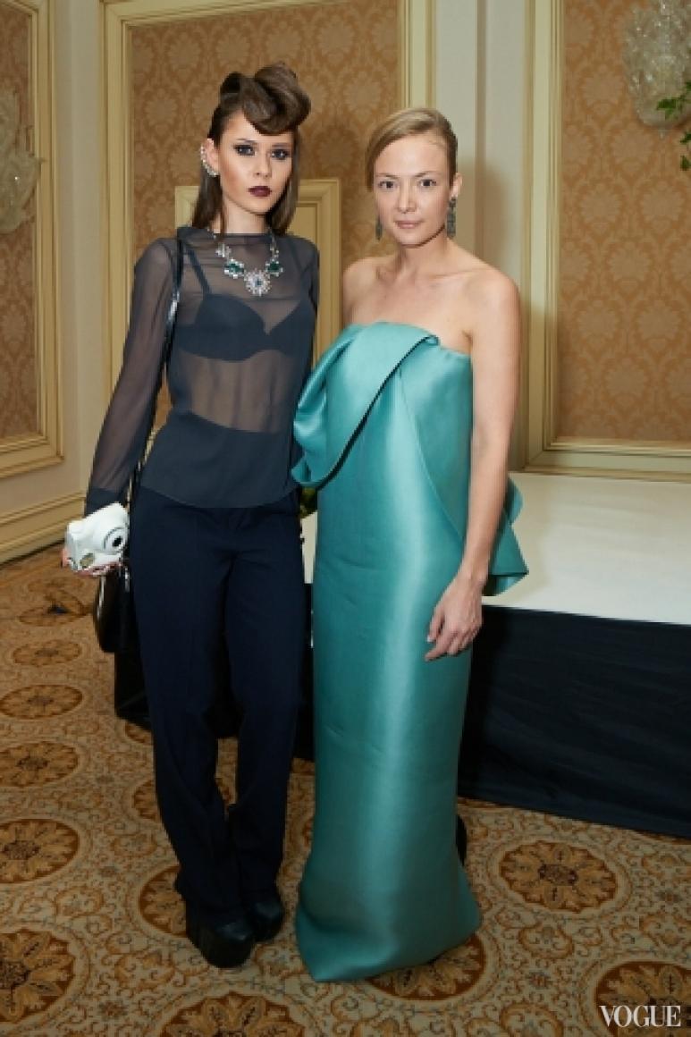 Юлия Санина и Мария Бех