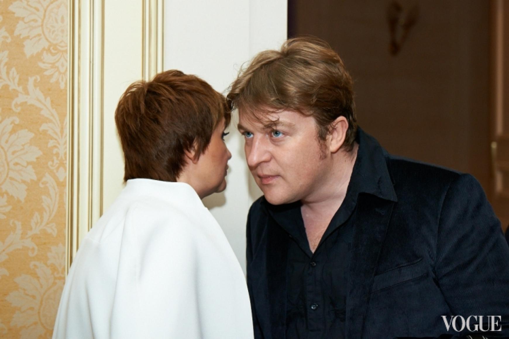 Ирина Данилевская и Алексей Залевский