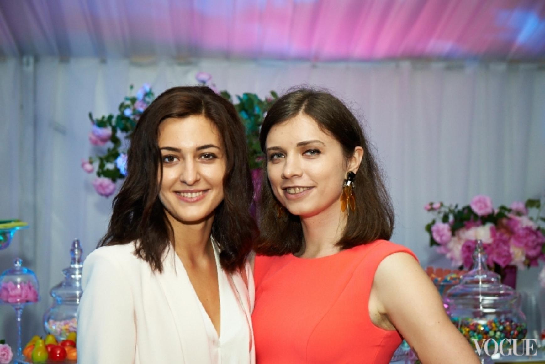Даша Заривная и Алиса Саенко